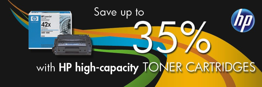 HP High Capacity Toners